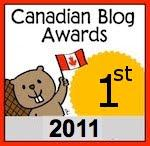 Canadian Blog Awards 2011