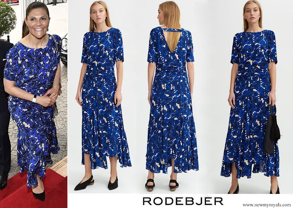 Crown Princess Victoria wore Rodebjer Zohra Dress