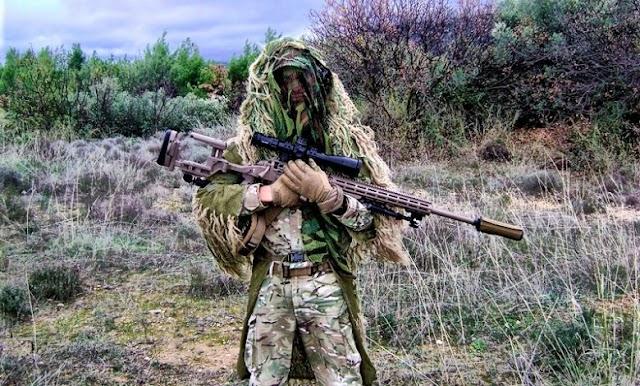 Τυφέκια ελευθέρου σκοπευτού Steyr SSG M1 προμηθεύτηκαν οι Δυνάμεις Ειδικών Επιχειρήσεων