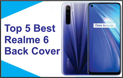 Realme 6 back cover Amazon
