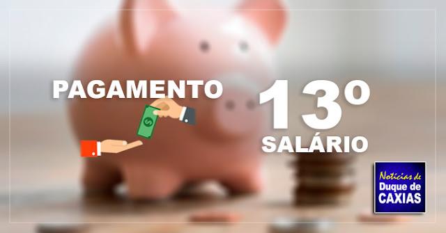 Caxias finaliza pagamento de 13º de inativos 2