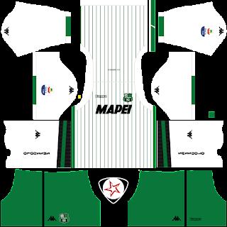 US Sassuolo Calcio 2018 - 2019 Away Kit