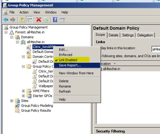 All4Techie: Active Directory Group Policy-I