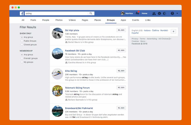 use facebook group to get customers