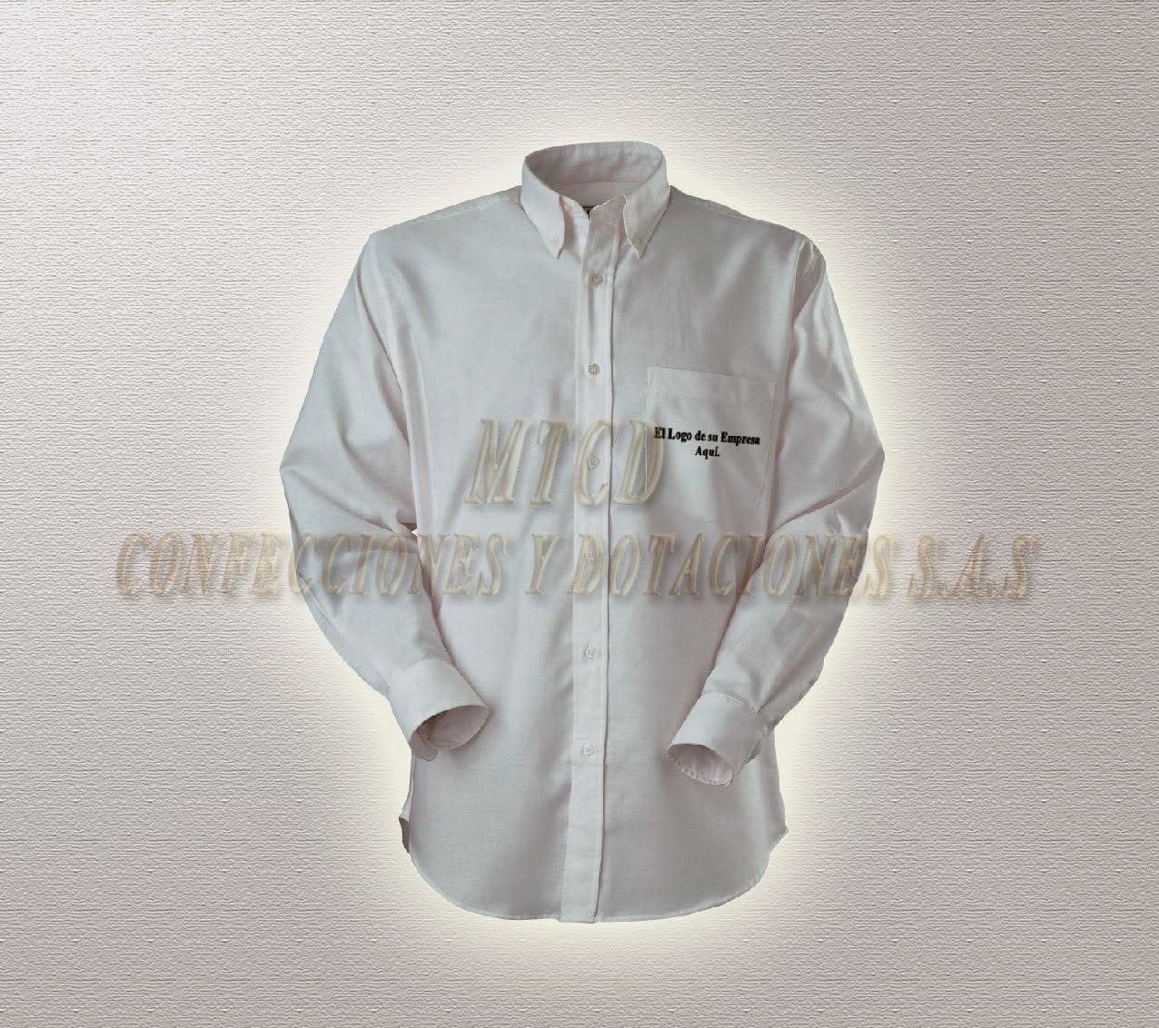 Camisa para hombre bordada