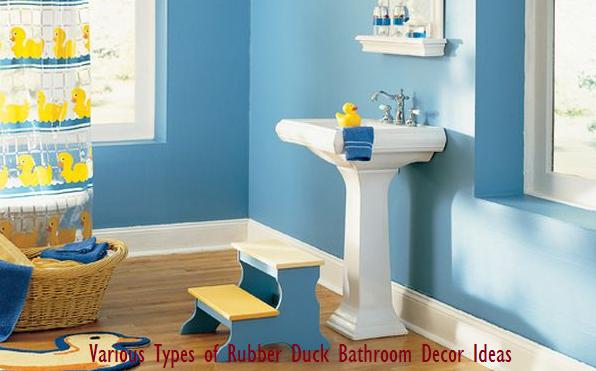 Rubber Duck Bathroom Decor Ideas