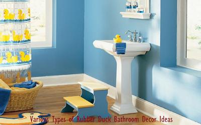 Various Types of Rubber Duck Bathroom Decor Ideas