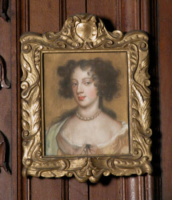 Mary 'Moll' Davis after Sir Peter Lely (pastel in Chirk Castle, © National Trust / Susanne Gronnow)