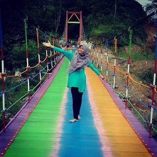 Jembatan Pelangi di Purbalingga