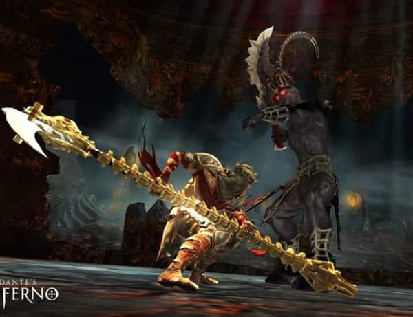Dante's Inferno gameplay