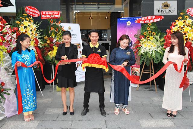 Hành Trình Việt Khai trương nhà hàng mới MH Bistro tại quận 2