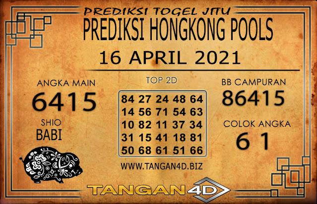 PREDIKSI TOGEL HONGKONG POOLS TANGAN4D 16 APRIL 2021