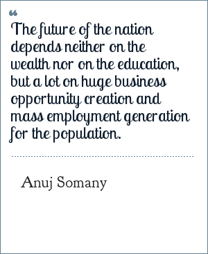 Future Quotes By Anuj Somany