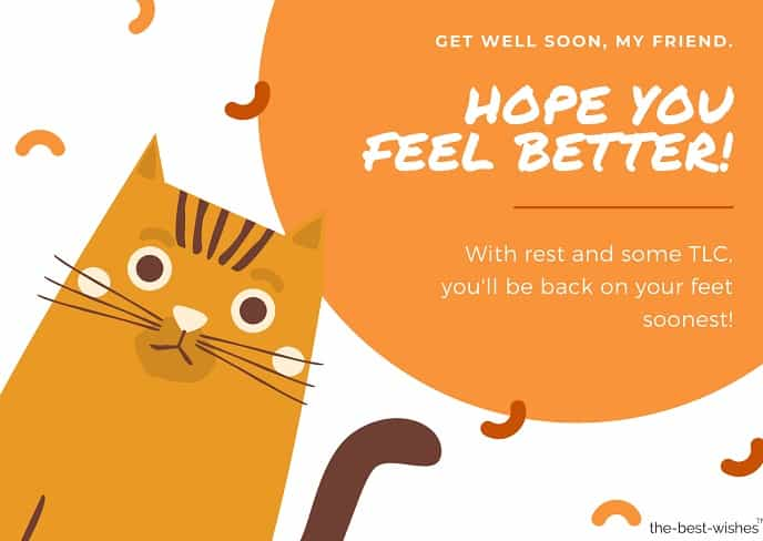hope you get better soon messages