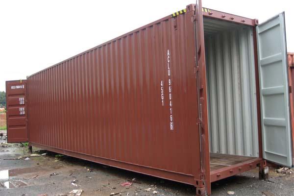 Trọng lượng container rỗng
