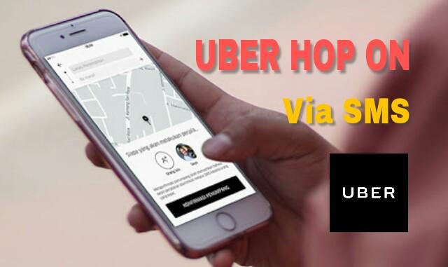 Fitur Hop On Uber Juga Bisa Pesan Lewat SMS