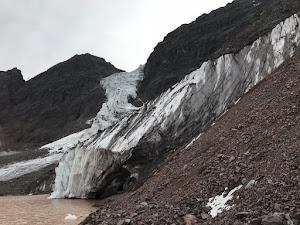 Retroceso de los glaciares andinos centrales.