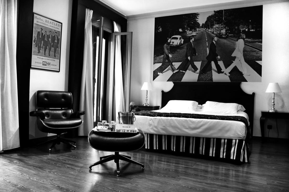 The Beatles Suite del Hotel El Avenida Palace