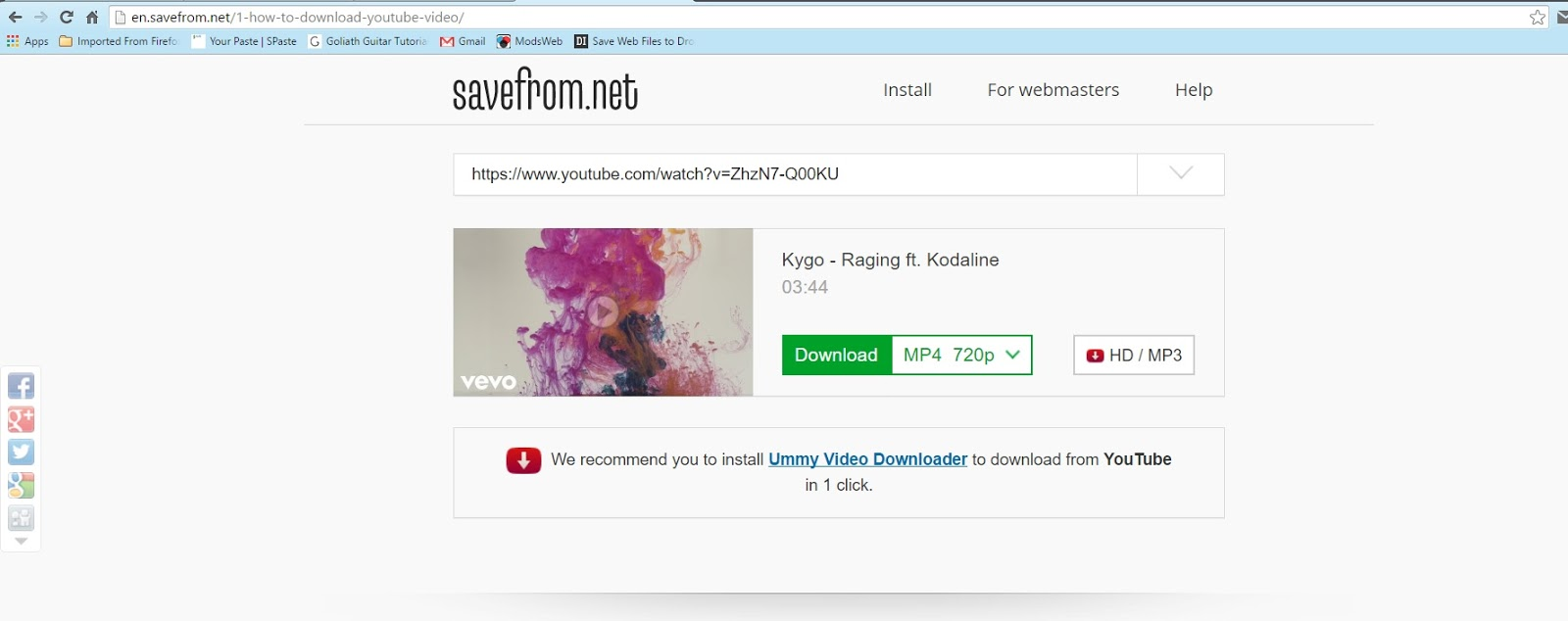 It's Really Simple, All We Gotta Do Is Put In The Page Link Of Video,  Choose The Format And Resolution And Then Download