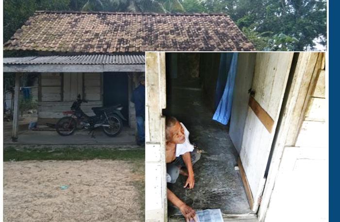 Miris, Ketua RK Bersama Kades Muktijaya Diduga Tilep BST Milik Pasutri Tua Renta