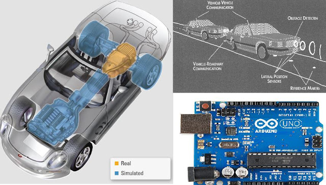 Arduino based AVCSS (Advanced Vehicle Control And Safety System)