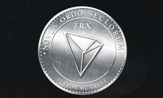 Gambar Cryptocurrency TRON (TRX)
