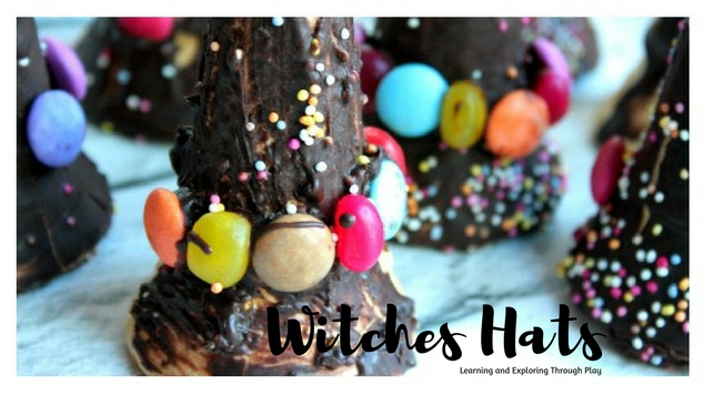 Witches Hats - Halloween Activity - Learning and Exploring Through Play