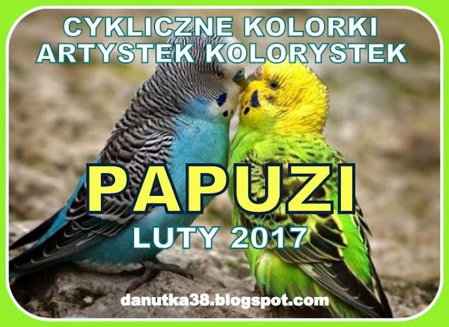 cykliczne kolory- papuzi luty