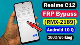 Cara FRP Bypass Realme C12 Verifikasi Akun Google