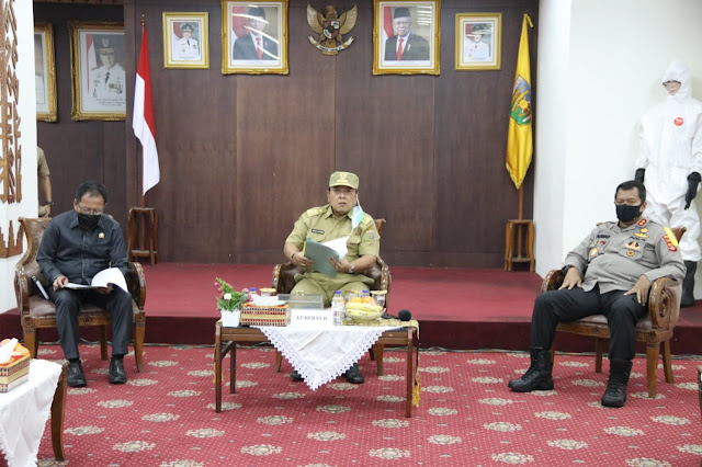 Tangani Covid-19, Gubernur Lampung Konsolidasi Tugas dan Fungsi Gugus Tugas
