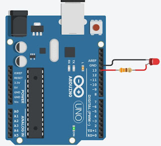 Arduino Blink Connections
