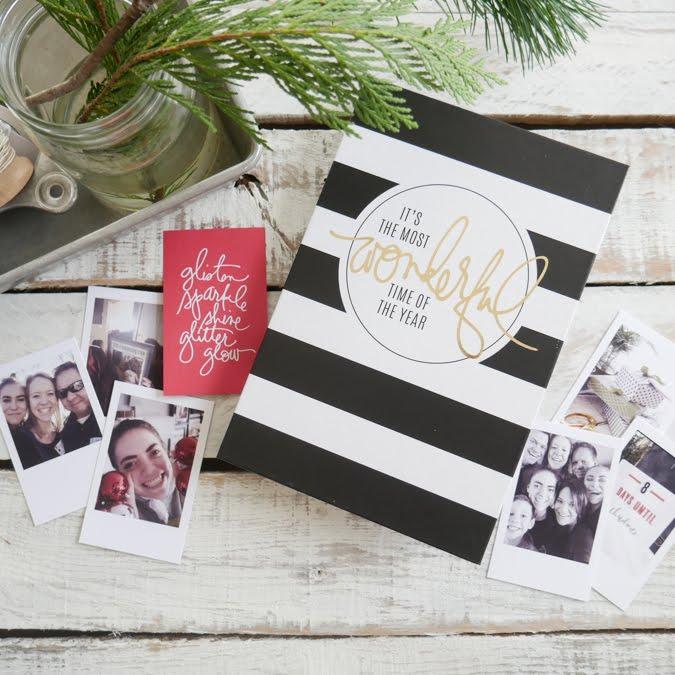 Heidi Swapp Holiday Gift Album & Scavenger Hunt by Jamie Pate | @jamiepate for @heidiswapp