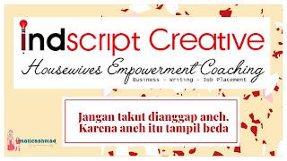 Indcript creative memberdayakan perempuan indonesia