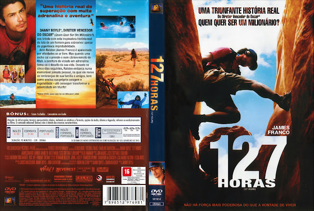 Capa DVD 127 HORAS