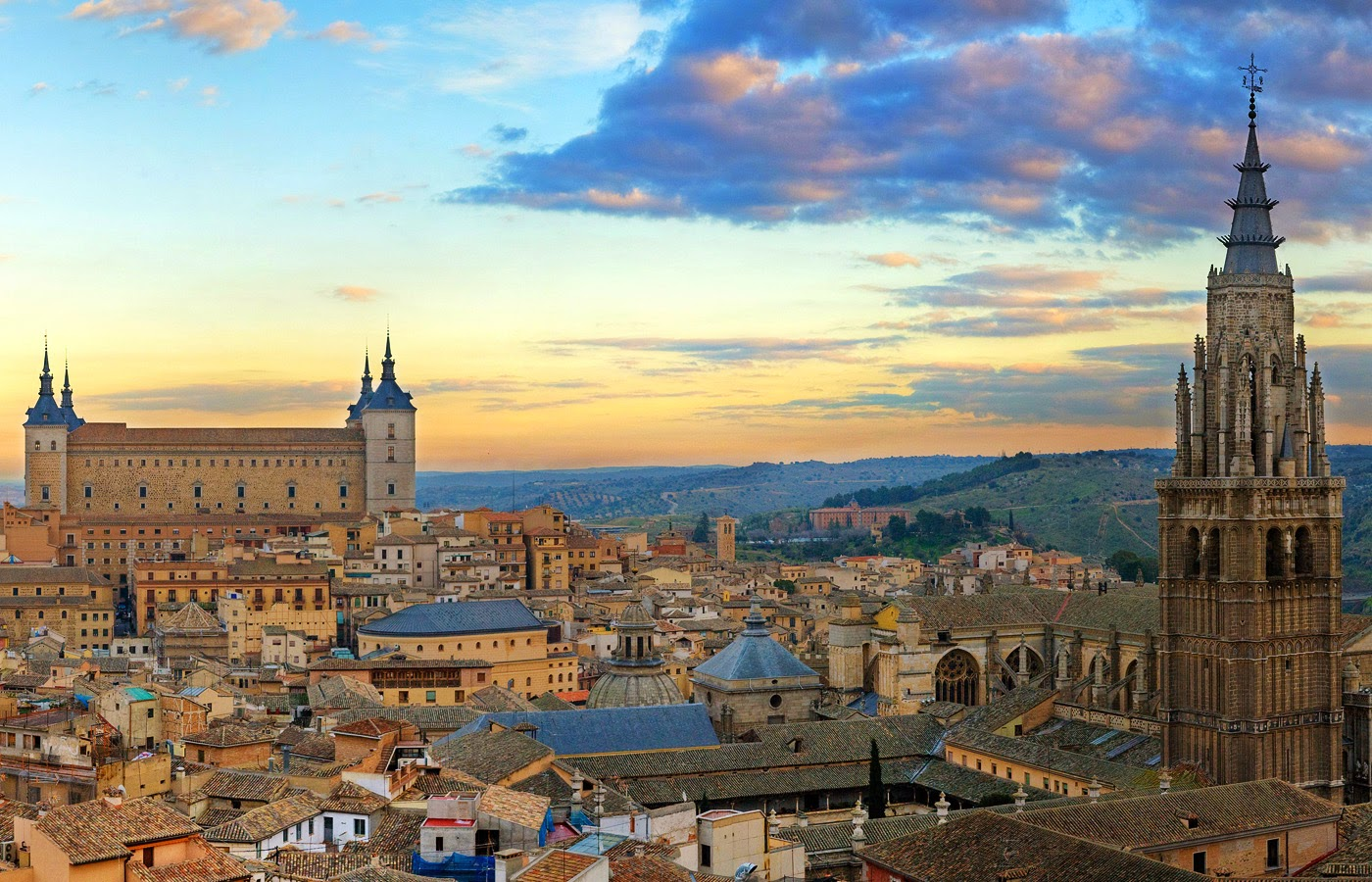 Holidays in Toledo, Spain