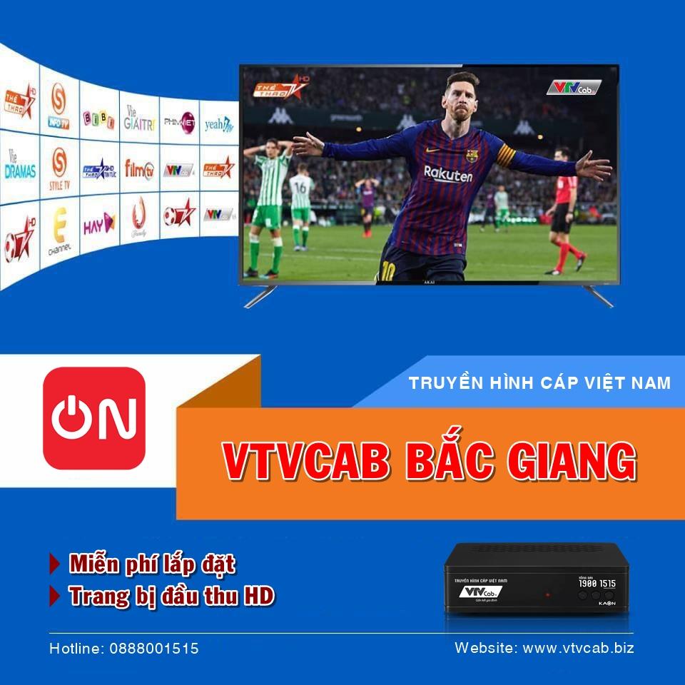 Tổng đài VTVcab Bắc Giang