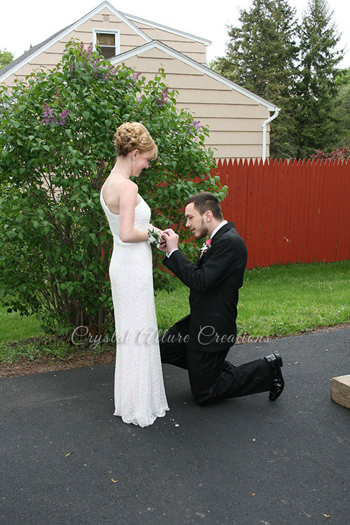 Prom proposal! Handmade Crystal Jewelry by Crystal Allure
