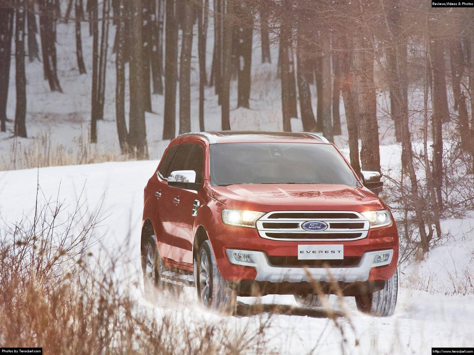 Đánh giá xe Ford Everest 2016 & giá xe