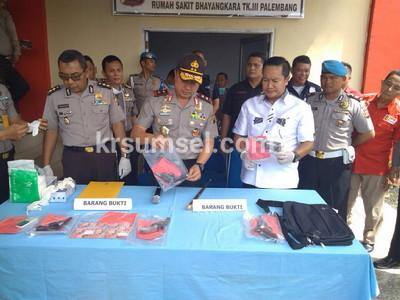 Rampok Sadis Tewas Ditembak Polisi
