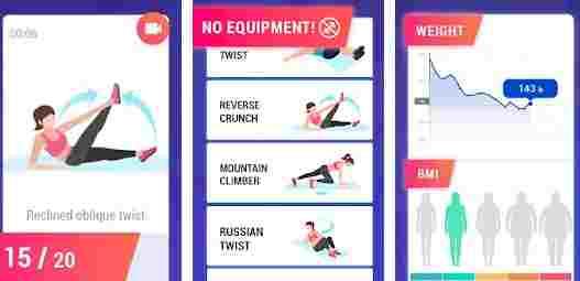 Aplikasi Olahraga Untuk Mengecilkan Perut Dalam 30 Hari Area Fokus