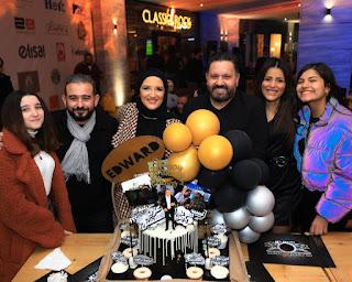 مصطفى قمر يحتفل بعيد ميلاد إدوارد بحضور فرقة الجيبسي