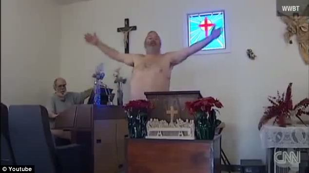 'Because Jesus Was Crucified Naked' This Church Allows The People To Wear Nothing During Worship