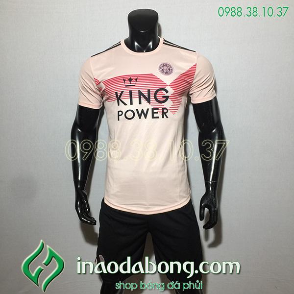 Áo bóng đá câu lạc bộ Leicester màu hồng 2020