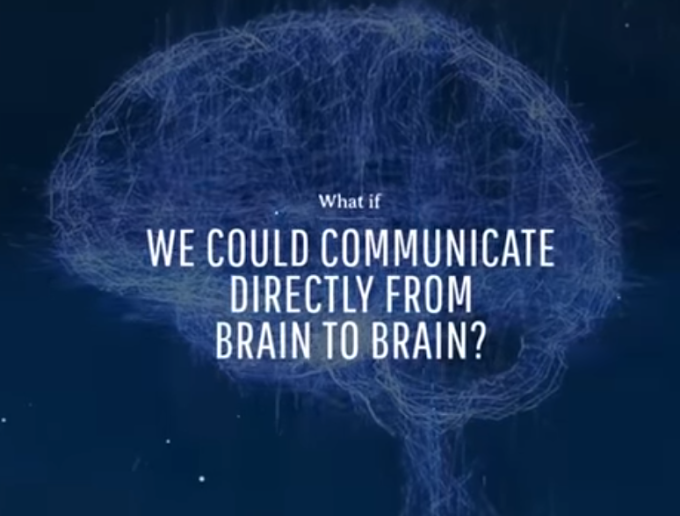 What If We Could Communicate From Brain to Brain?