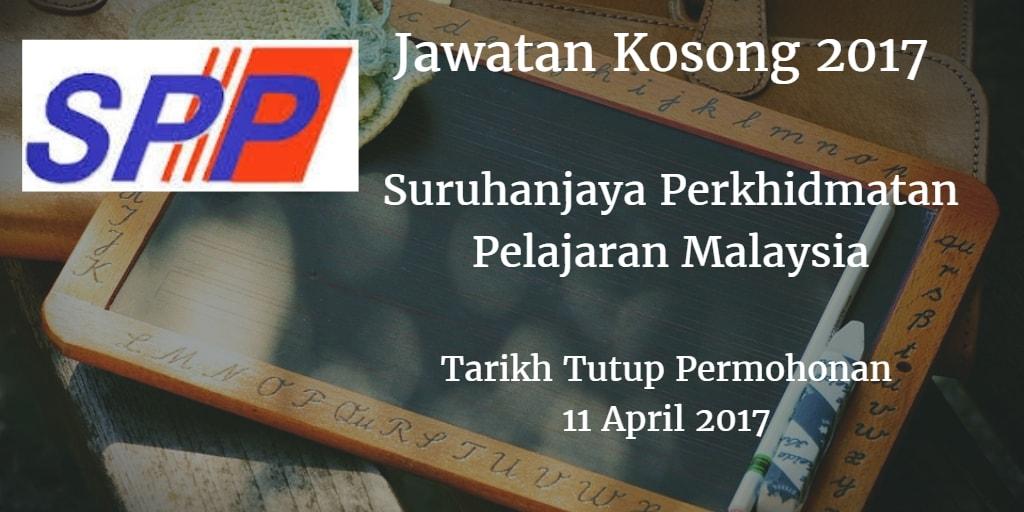 Jawatan Kosong Suruhanjaya Perkhidmatan Pelajaran Malaysia 11 April 2017