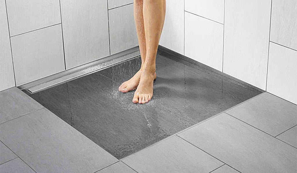La scelta del piatto doccia e le sue alternative di tendenza catania - Doccia senza piatto doccia ...