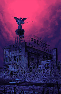 """We Can No Longer Protect You Forever"" Version 2 Screen Print by Daniel Danger"