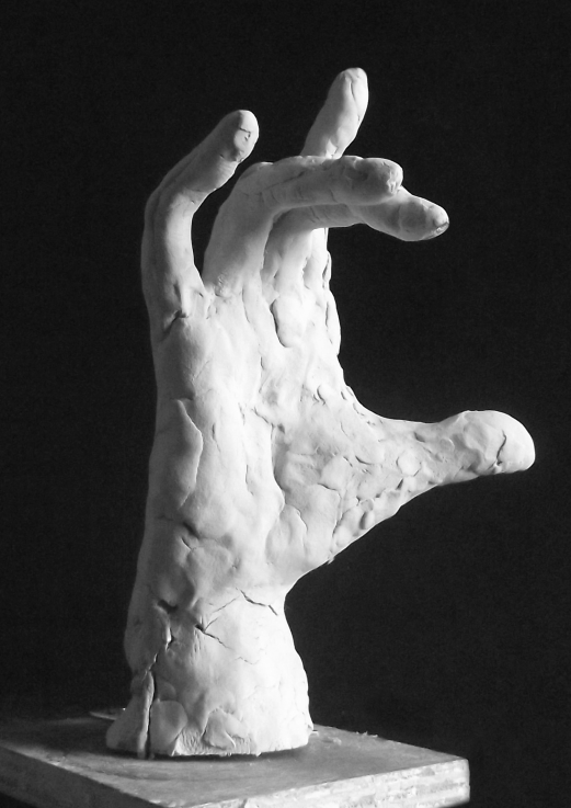 Edith Lafay  sculpture main droite 2 a