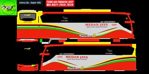Livery Medan Jaya 109 JB3