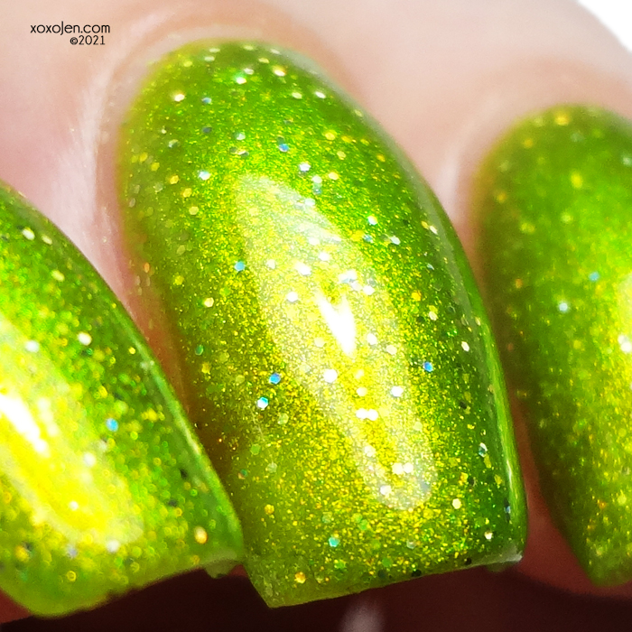 xoxoJen's swatch of Glam Polish Life With You Could Never Be Boring